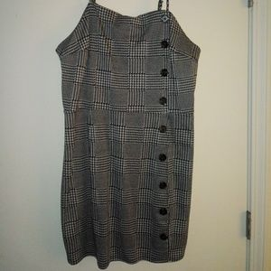 Womens plaid dress